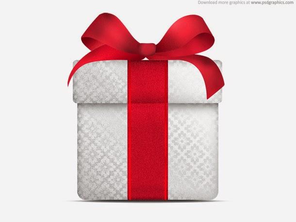 Christmas Gift Icon PSD