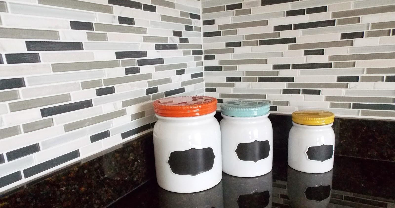 Lowe's Glass Tile Kitchen Backsplash