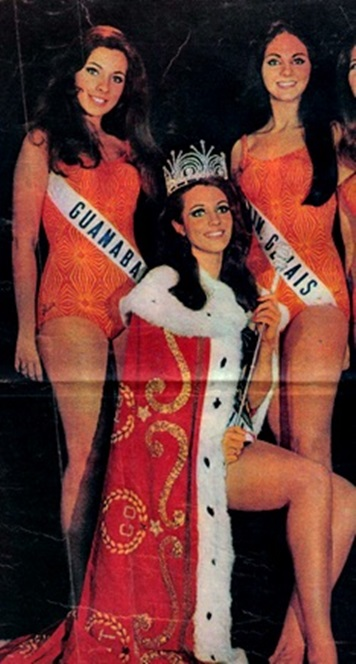 1968 - Top Tres Miss Universo Brasil