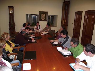 imagen de archivo de una sesion pasada de la comision mixta