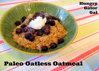 Paleo Oatless Oatmeal from Hungry Gator Gal