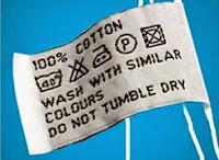 label simbol cara perawatan pakaian - sumber gambar rinso.co.id