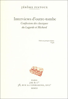 Interviews d'outre-tombe