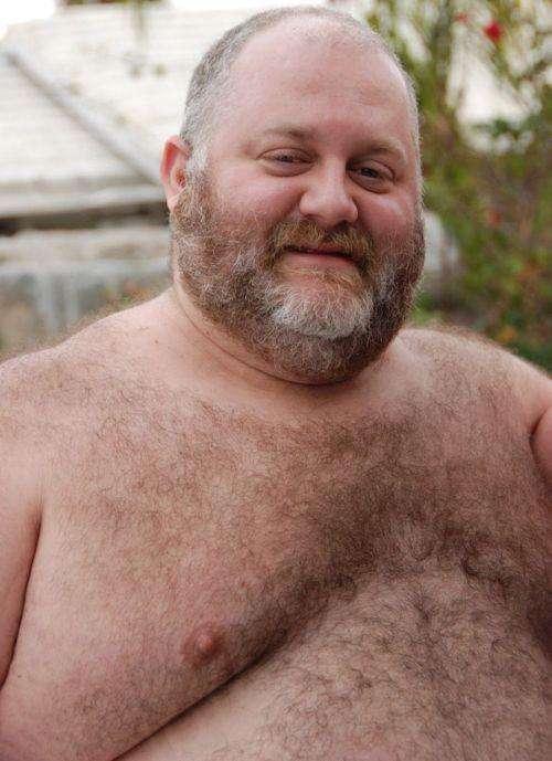 Black Hairy Naked Old Men