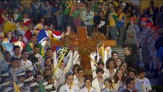 Confira o texto original da Via Sacra com os jovens da JMJ Rio2013