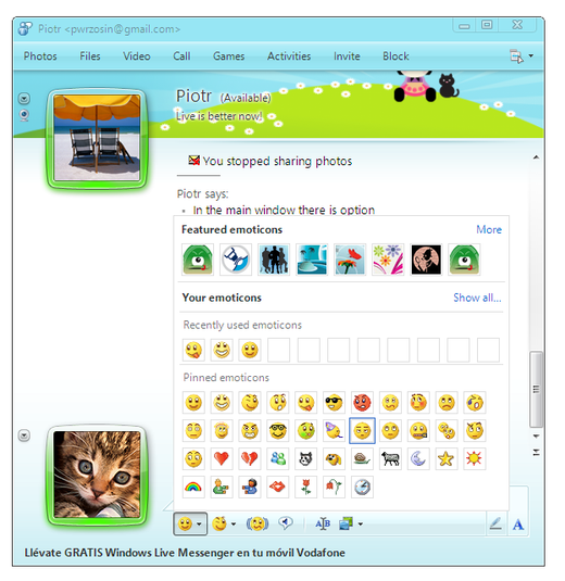 Windows Live Messenger 2016