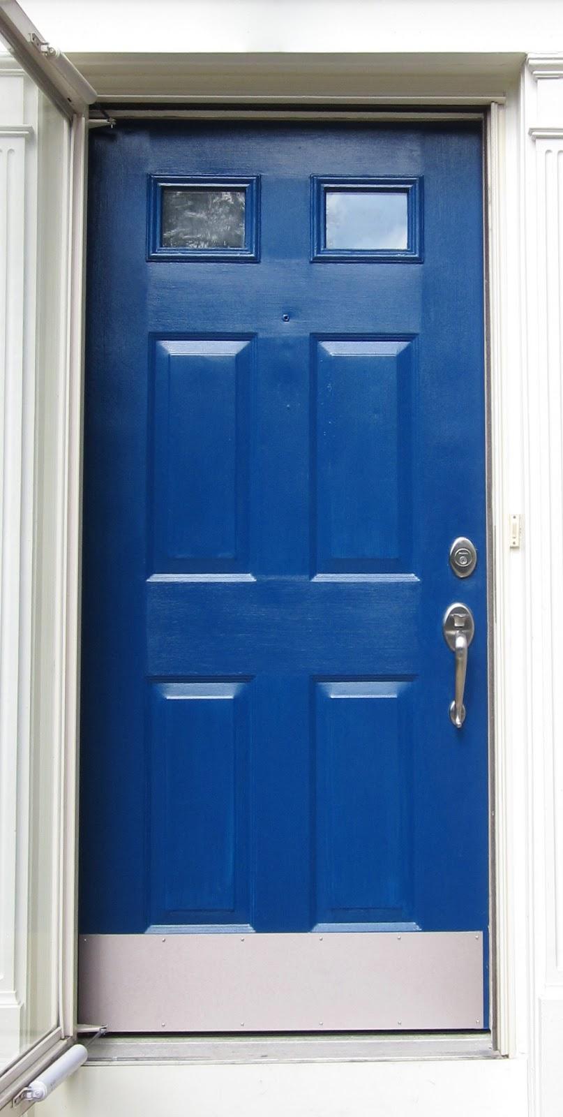 Blue Front Door : Bonnieprojects a blue front door