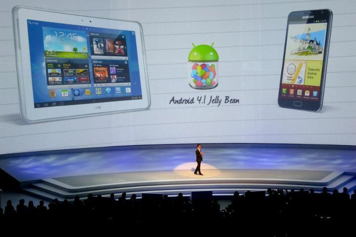 Samsung Galaxy Note & Note 10.1 akan mendapat kemaskini Android 4.1