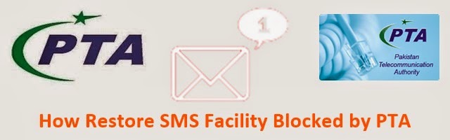 PTA SMS Restore