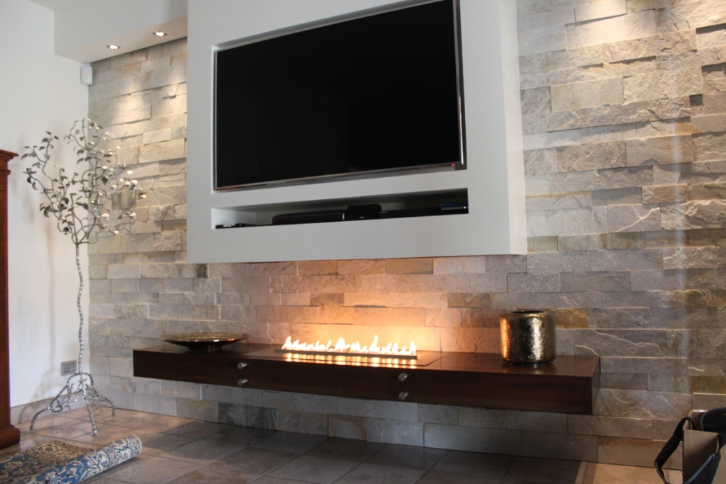 Planika Fires Offical Company Blog TV Mounted Over A Bio Ethanol Fireplace