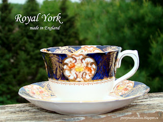 Royal York Rococo Tea Cup and Saucer