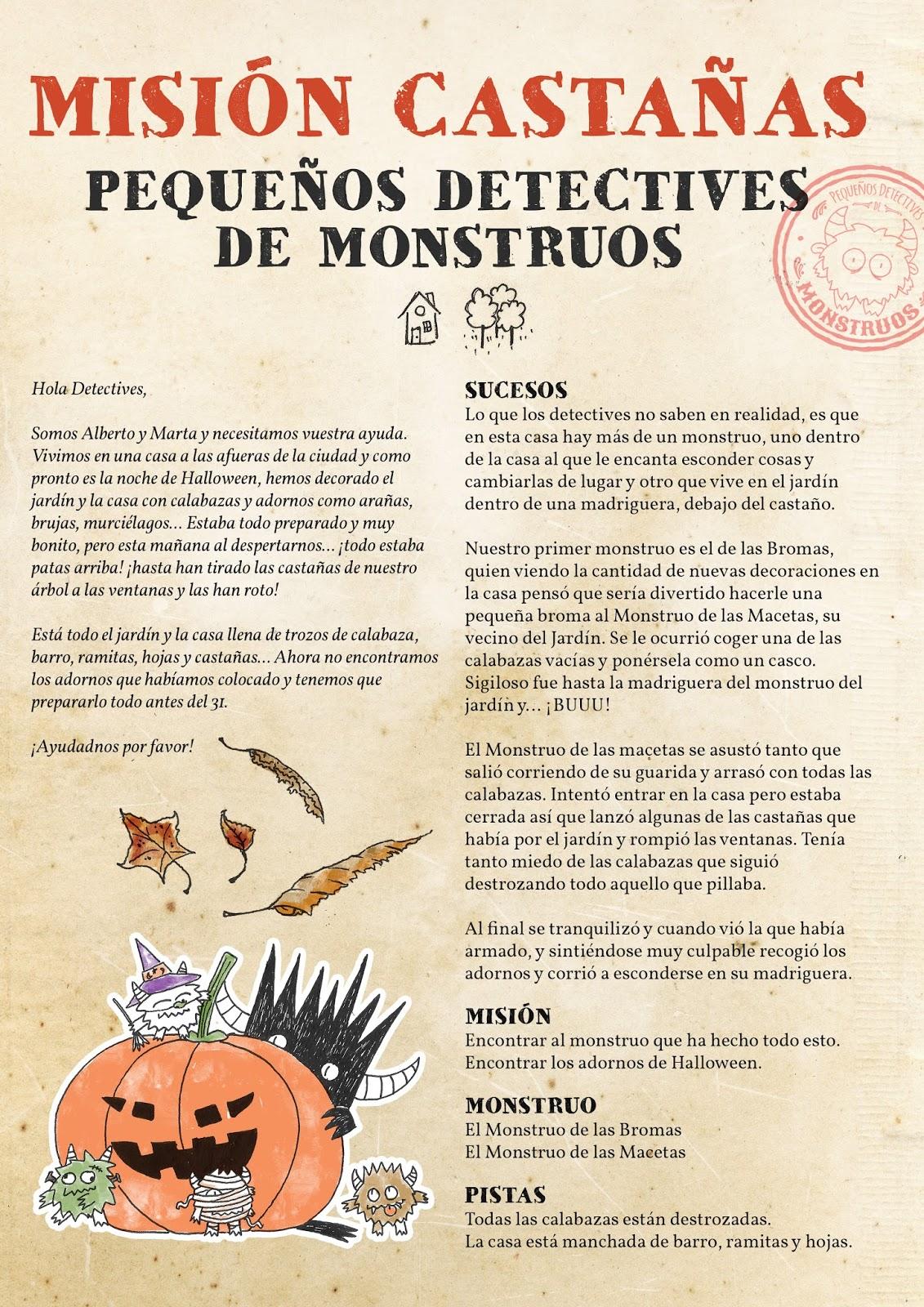 Pequeños Detectives de Monstruos: 2015