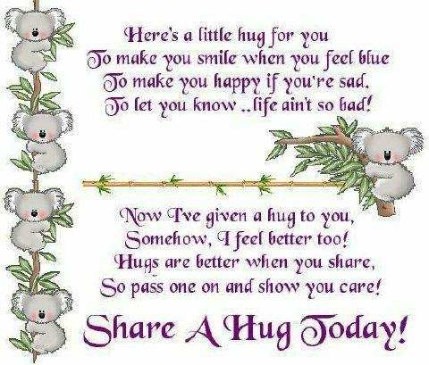 Bildergebnis für wednesday hugs