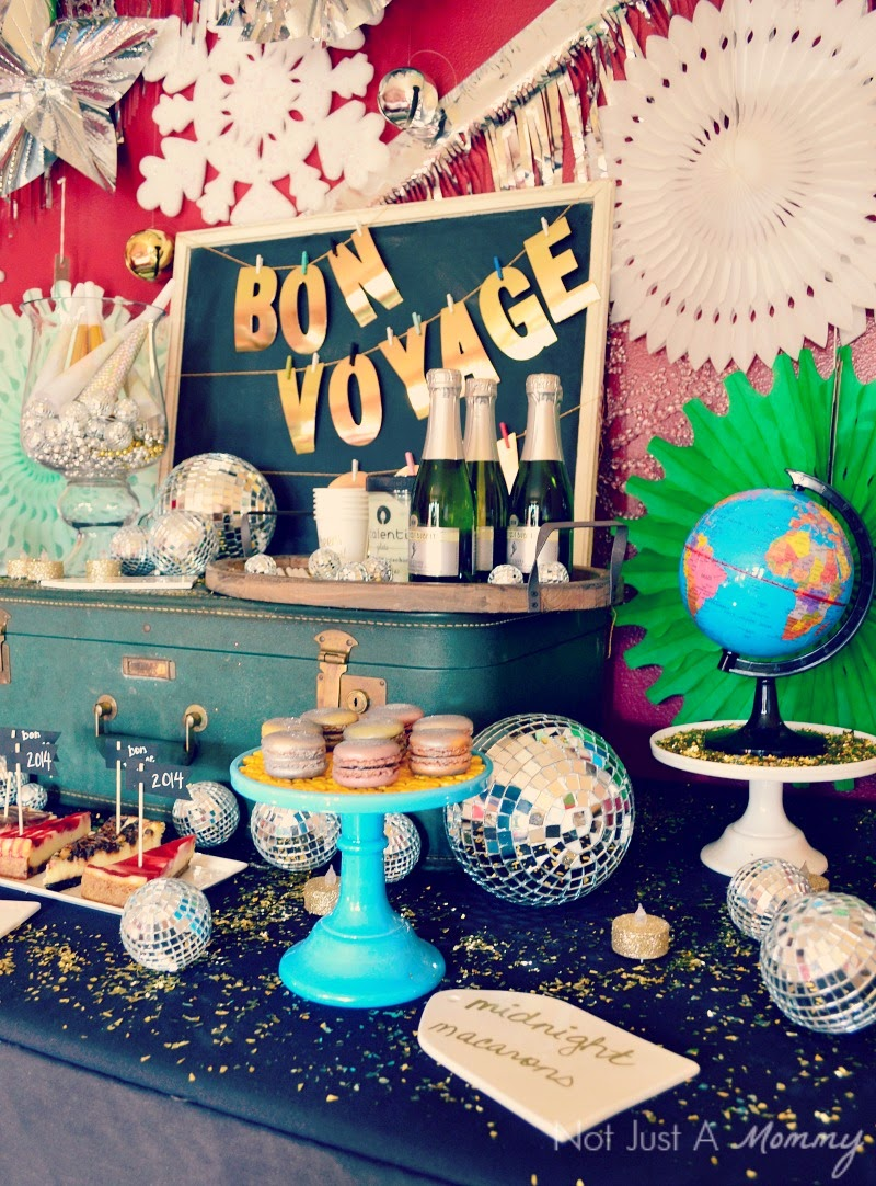 Bon Voyage, 2014 New Year's Eve Party