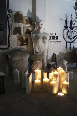 arte atelier banchina molini venezia performance shiro kuroi