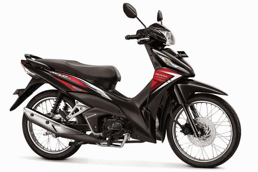 Warna Honda Revo Fit PGM-FI merah