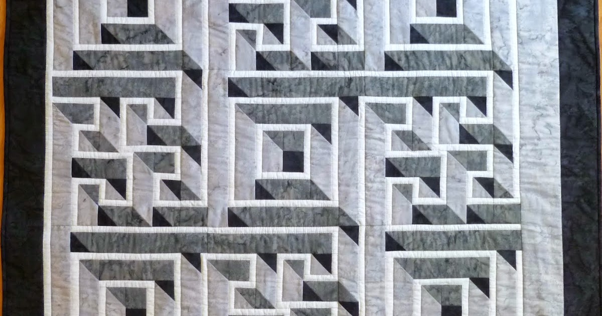 Labyrinth Quilt Pattern Free Download : Wayne s Quilts: Labyrinth