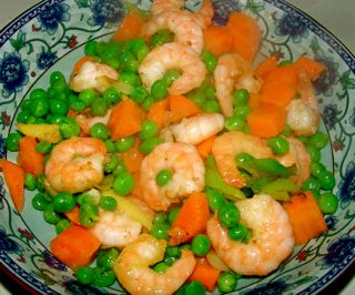Chinese Food Home Cooking Recipe Simply Cook Prawns
