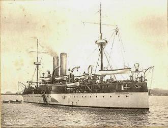 USS Maine antes de la explosión