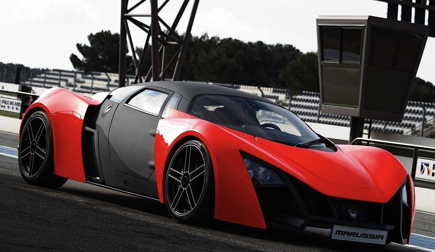 Sport car garage marussia b2 2012 for Garage auto b2