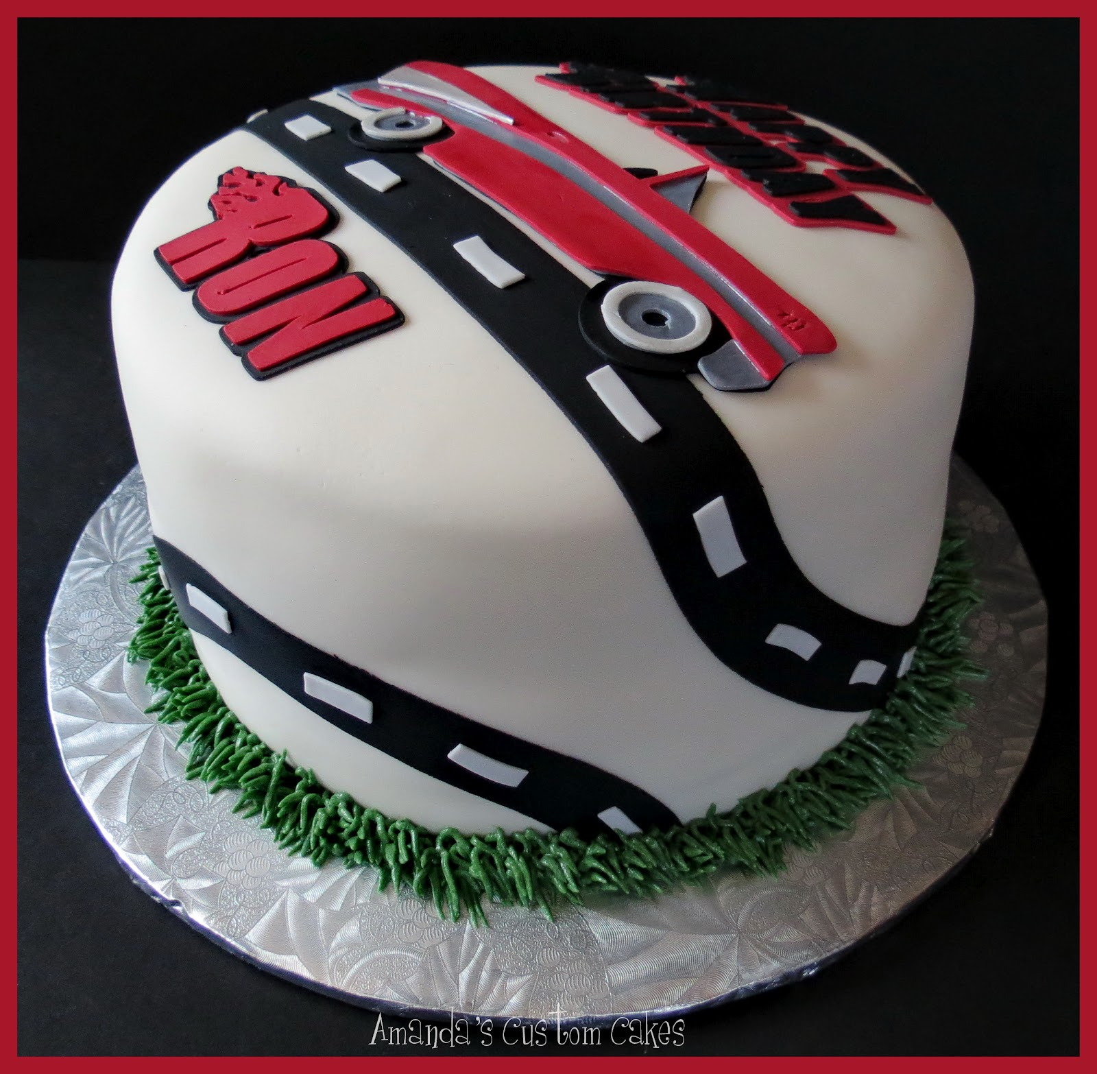 Amandas Custom Cakes Classic Car Birthday Cake