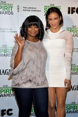 ctresses Octavia Spencer and Paula Patton