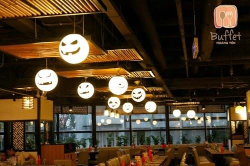 Miễn phí gói nước 149.000 đồng trong tháng Halloween tại nhà hàng Hoàng Yến