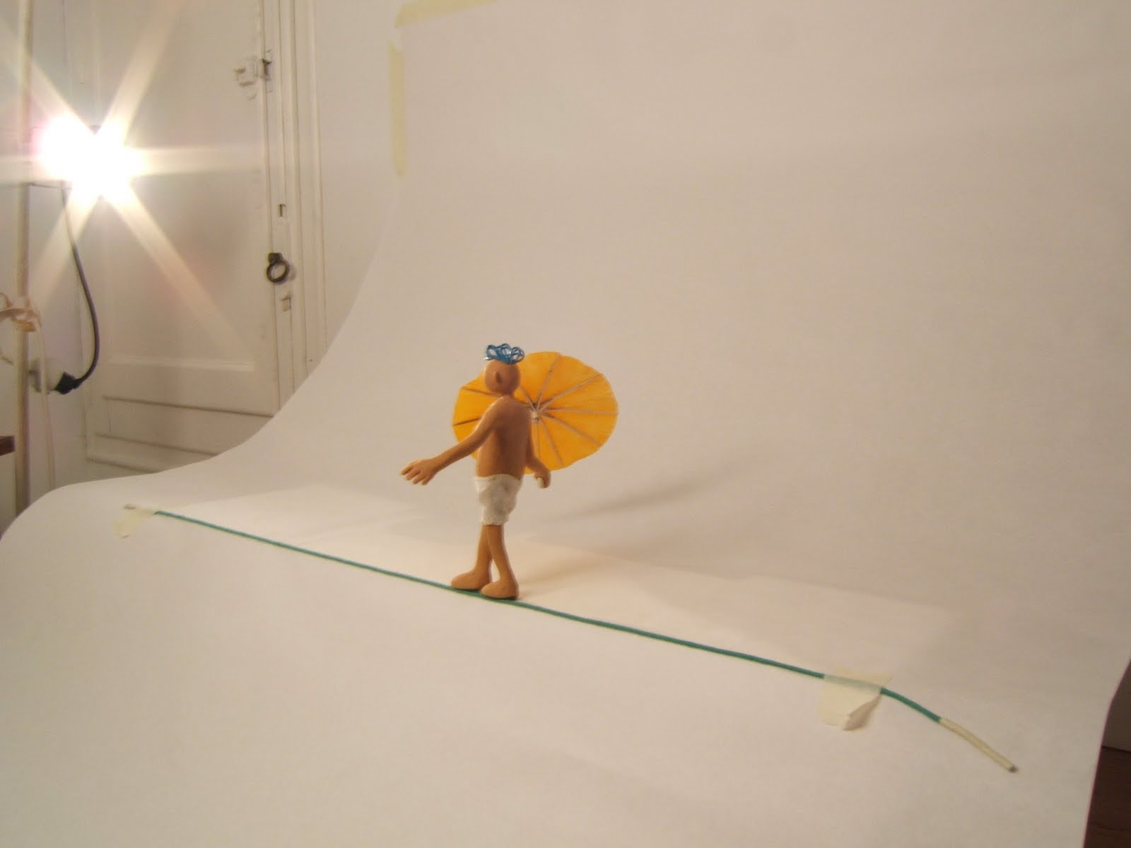 how to make a clay puppet for stop motion