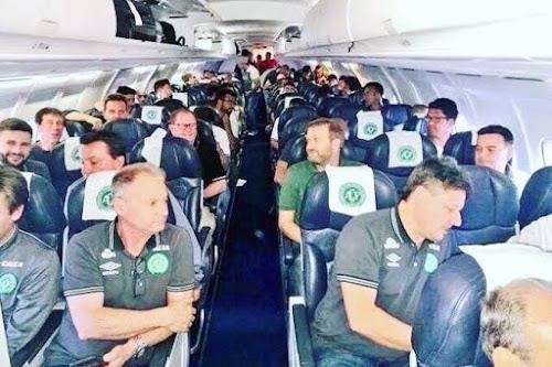Catástrofe aérea com o time de futebol Chapecoense