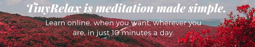 TinyRelax: Free Meditation & Mindfulness App