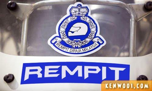 mat rempit police logo