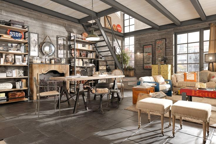 Inspiration shabby arredamento urban chic for Arredamento urban
