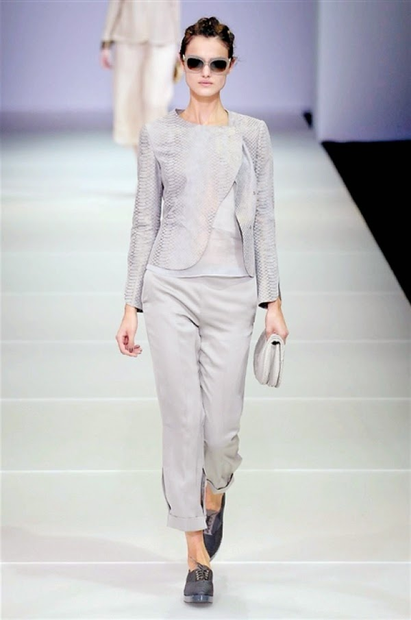 Eniwhere Fashion - Milan Fashion Week 2014 - Giorgio Armani