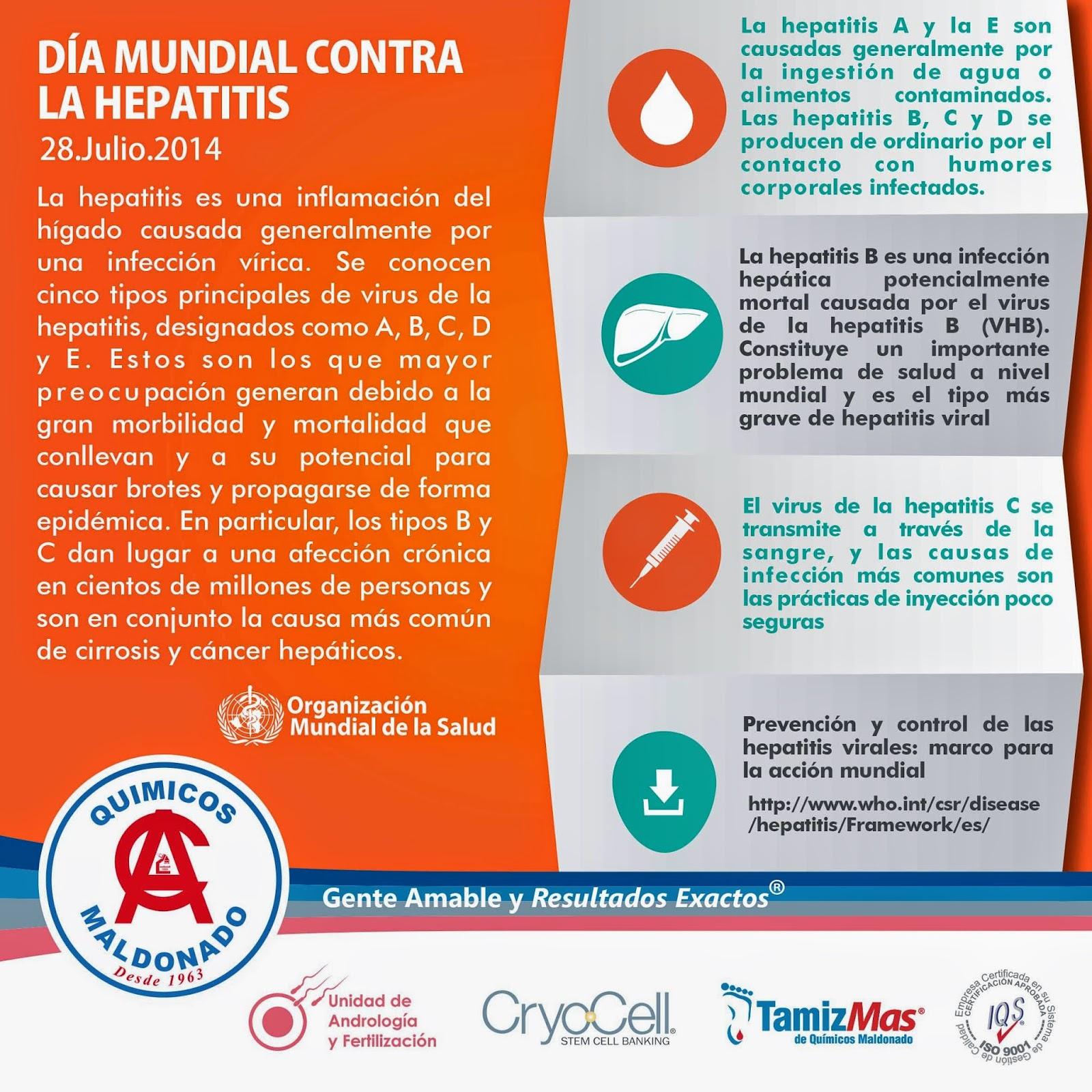 Día Mundial de la Hepatitis ~ Gaceta M