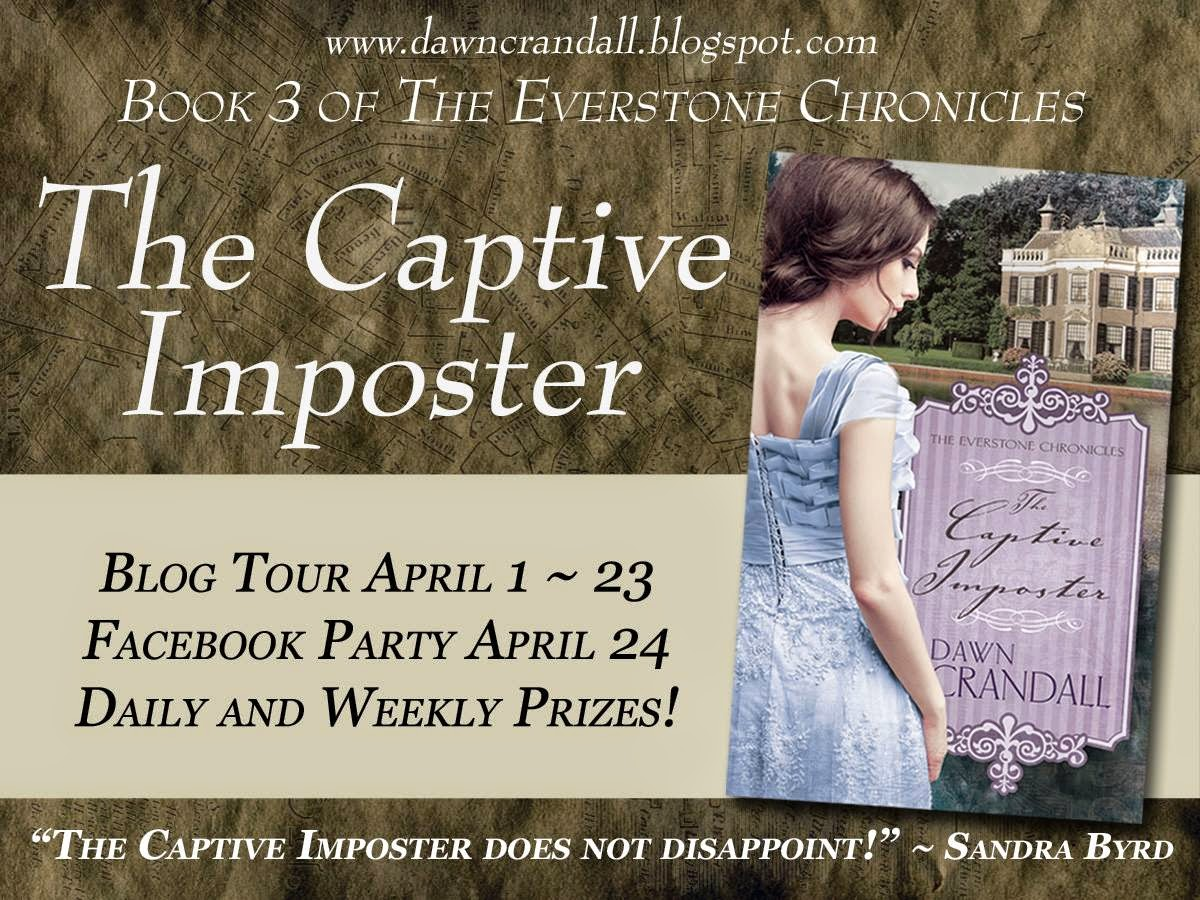 The Captive Imposter Blog Tour