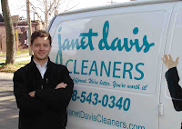 Dry Cleaners Pickup & Delivery Van