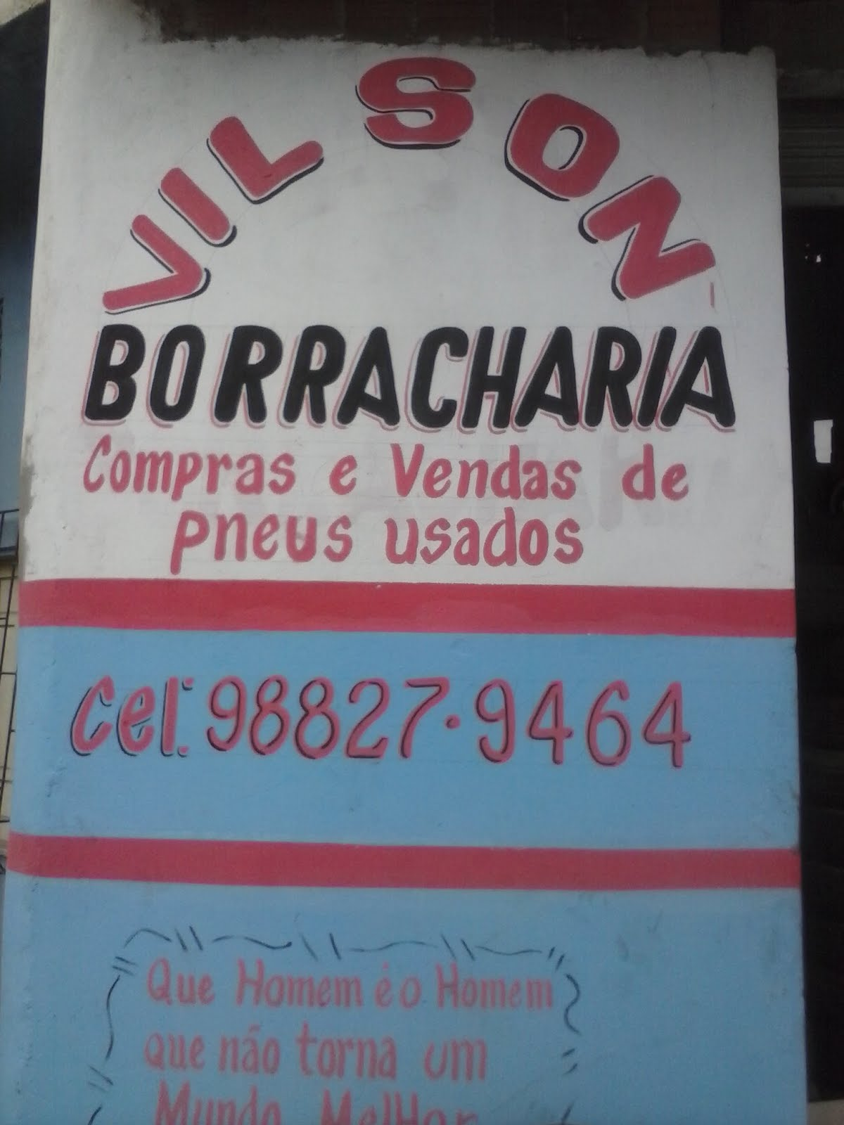 Vilson borracharia
