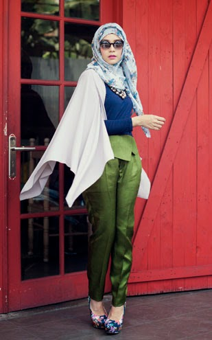 Hijab Fashion Style Retro Chic