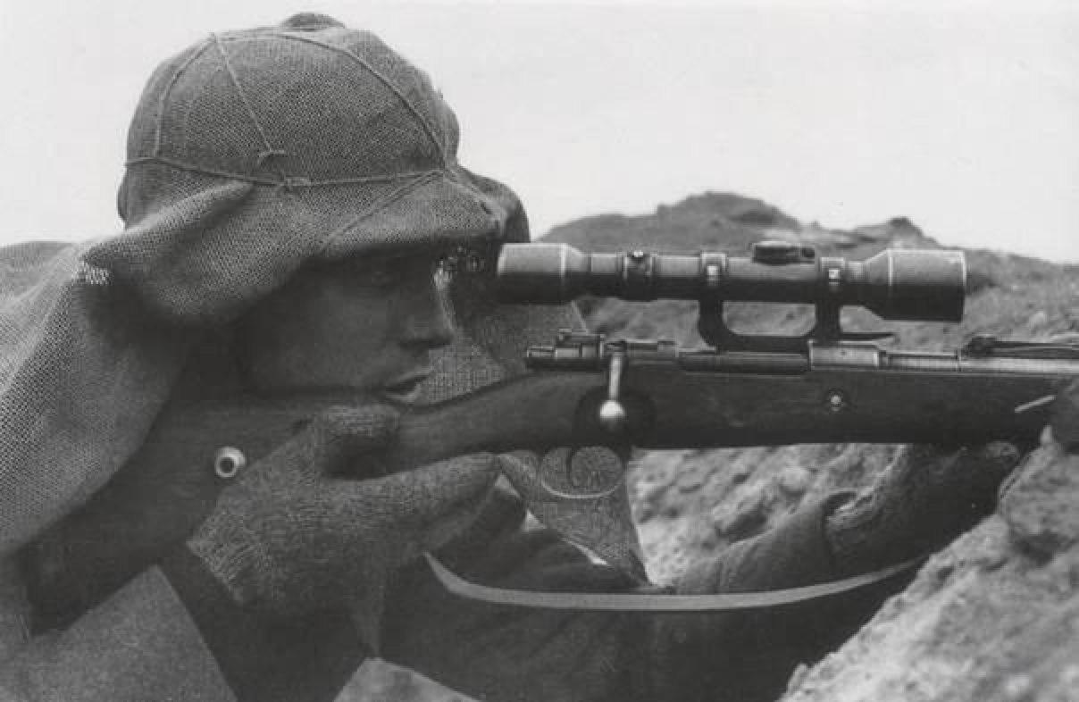 Ww2 american sniper rifle