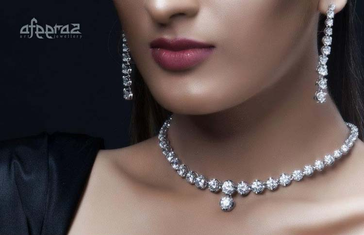 Afeeraz Jewllery Colection 2012 Zirqoon , Diamond and Silver