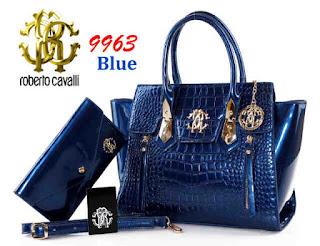 Tas KW Roberto Cavalli College Croco Glossy 9963WC Jakarta