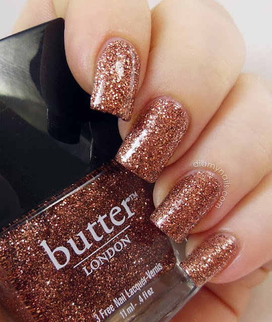 butter LONDON Bit Faker swatch