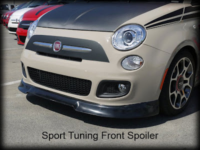 HotFIAT Sport Tuning Front Spoiler