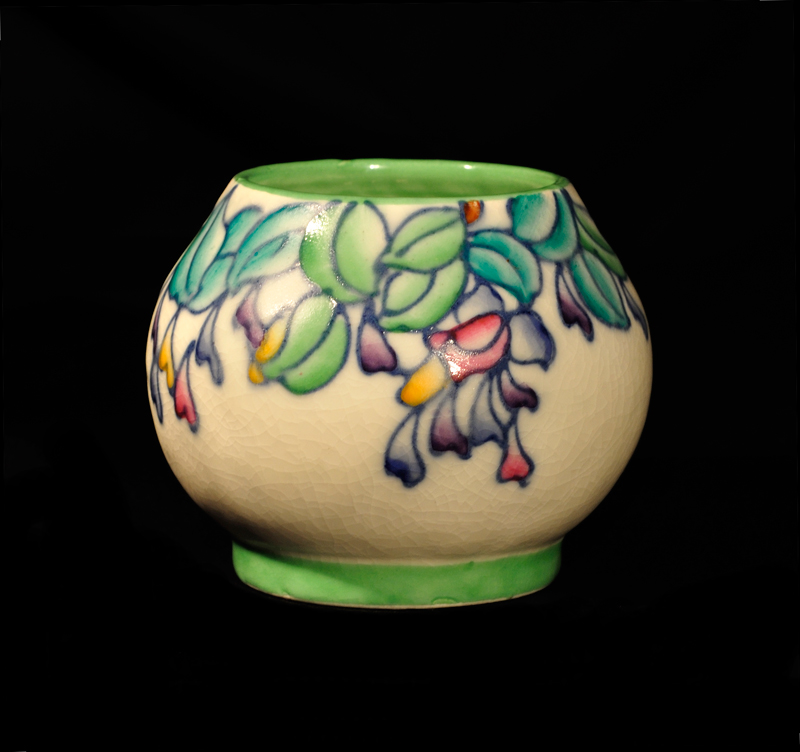 Uk Pot Heads Charlotte Rhead Crown Ducal Wisteria Vase