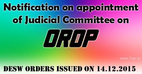 OROP – DESW Orders