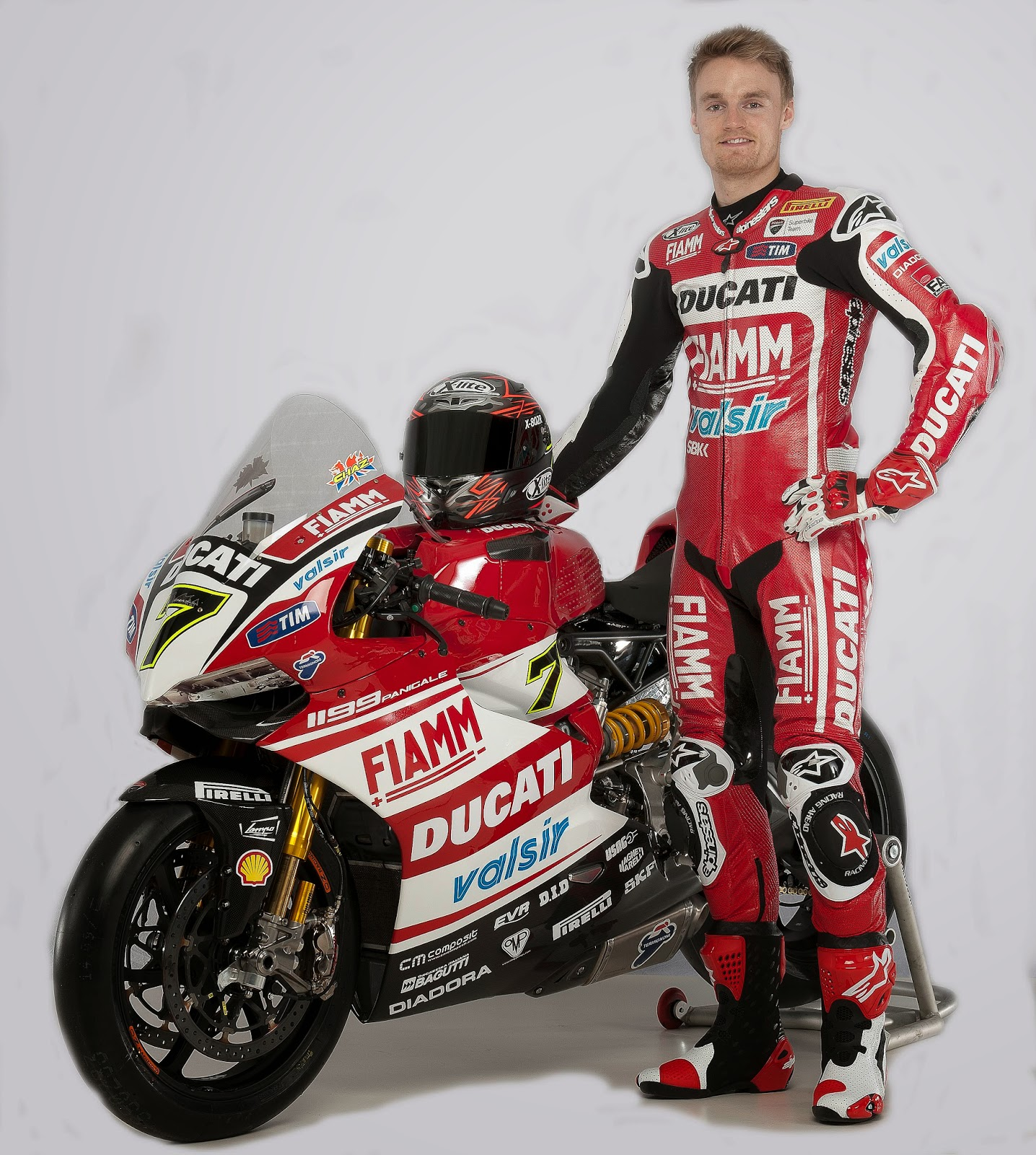 Racing Caf 232 Ducati 1199 Panigale Ducati Superbike Team 2014