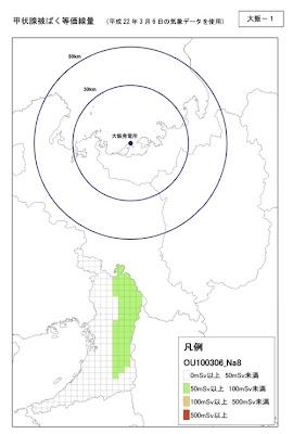 滋賀県による放射性物質拡散予測に関する情報について(資料より)