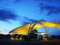 Pórtico do Parque de Ciência e Tecnologia Guamá