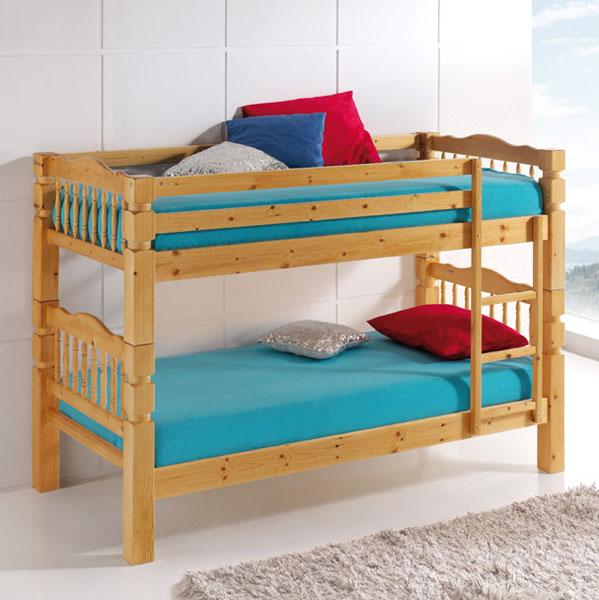 La web de la decoracion y el mueble en la red camas - Cama litera de madera ...