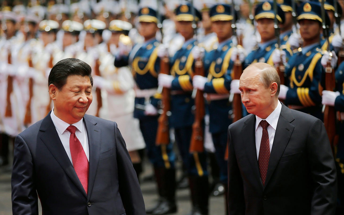 RUSSIA, CHINA SIGN DEAL TO BYPASS U.S. DOLLAR